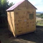 1.8m x 1.8m storage hut