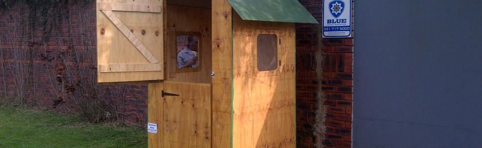 1.2m Guard Hut