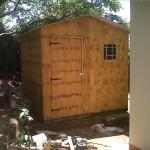 2.4m x 2.4m storage hut