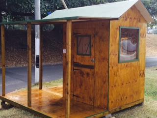 Guard hut, wrap around verandah