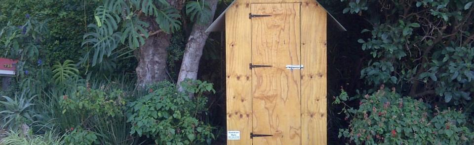 1.2m x 1.2m Guard hut