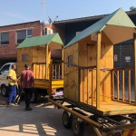 Huts on the move