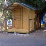 2.4m x 2.4m Guard hut ADT