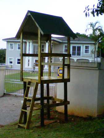 1.2m x 1.2m Guard Tower