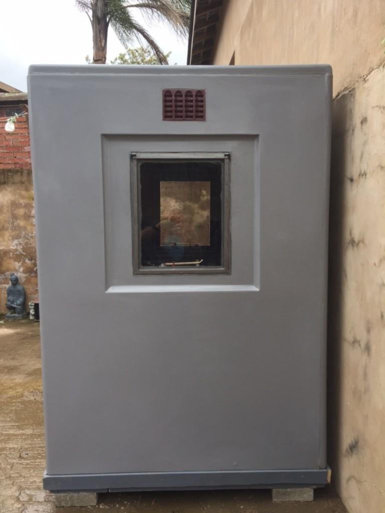 1.5m x 1.5m Grey